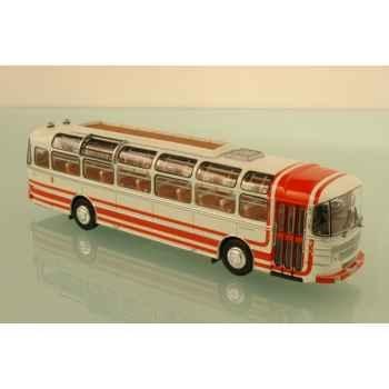 Saviem s53m excursion rouge et blanc 1976 Norev 530011
