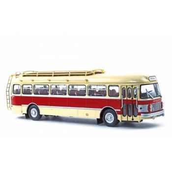 Saviem sc1 crème et rouge 1964  Norev 521009