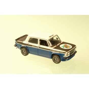 Simca 1000 rallye 2 srt blanc et bleu 1977 Norev 571018