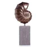 sculpture nautilus giant garden sculpture aluminium bs3318alu lava