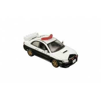 Subaru impreza wrx sti 2003 police japonaise norev 800071