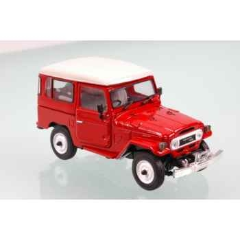 Toyota land cruiser bj40 rouge 1974 Norev 800356