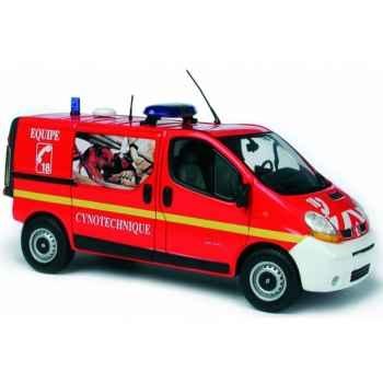 Trafic pompier equipe cynotechnique Norev 518005
