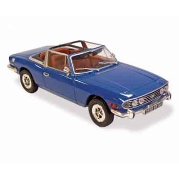Triumph stag mk1 1971 blue  Norev 350094