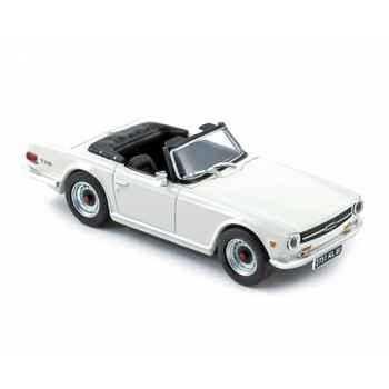 Triumph tr6 1970 - white  Norev 350096