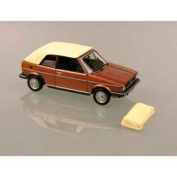 Volkswagen golf cabriolet 1 brazil brown Norev 840075