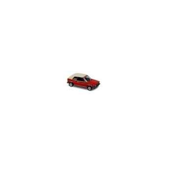 Volkswagen golf cabriolet rouge 1981  Norev 840076