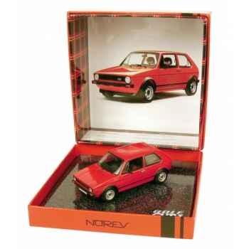 Volkswagen golf gti 1 rouge de mars 1976 Norev 840040