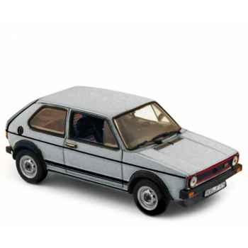 Volkswagen golf gti 1976 metallic silver  Norev 840079