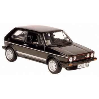 Volkswagen golf gti pirelli 1984 noir Norev 840041