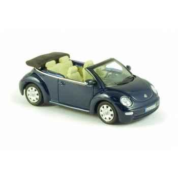 Volkswagen new beetle décapotable bleu marine Norev 840032