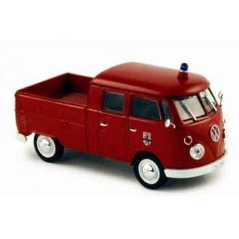 Volkswagen t1 doka 1961 pompiers italiens  Norev 840209