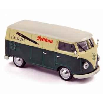 Volkswagen t1 kastenwagen 1957 pelikan Norev 840212