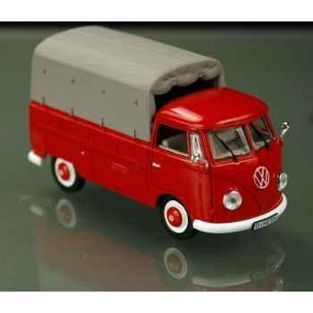 Volkswagen t1b pick-up rouge 1958 Norev 840205