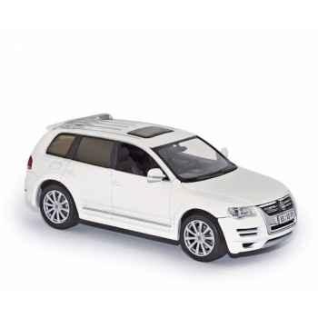 Volkswagen touareg r50 white 2008 Norev 840255