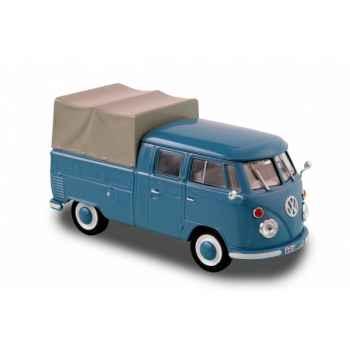 Volkswagen transporter t1 bleu doka 1963 Norev 840207