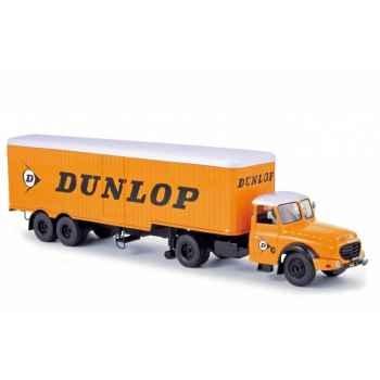 Willeme ld610 avec remorque dunlop  Norev 879995