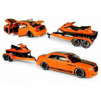 300c norev by parotech + jet ski parotech orange/noir 2007 189406