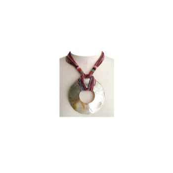 Joyaux de la couronne-Collier talisman court capiteux-cotalcap