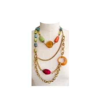 Joyaux de la couronne-Collier tagua fresques-cotagfre