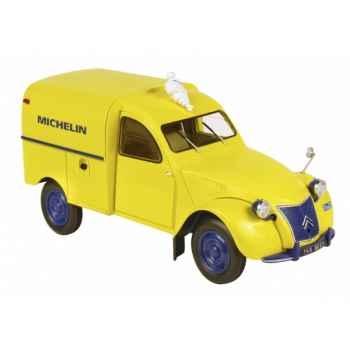 Citroën 2cv fourgonnette michelin avec bibendum Norev 181502