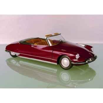 Citroën ds 19 cabriolet rouge rubis Norev 181561