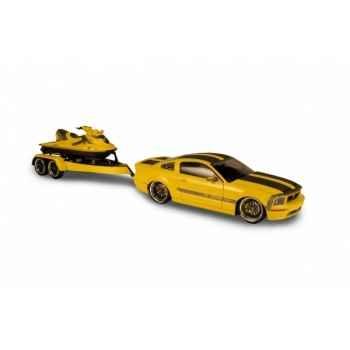 Coffret mustang + jet ski parotech cesam jaune Norev 182707