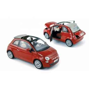 Fiat 500 c 2009 pearl red Norev 187750