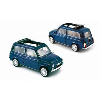 Fiat 500 jardinière 1960 blue Norev 187720