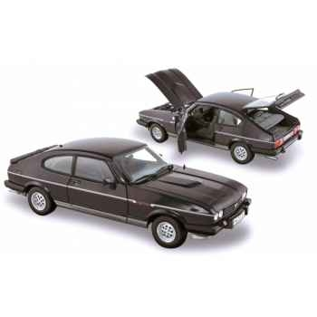 Ford capri mk. 3 2.8 injection 1983 black & silver 1 Norev 182712