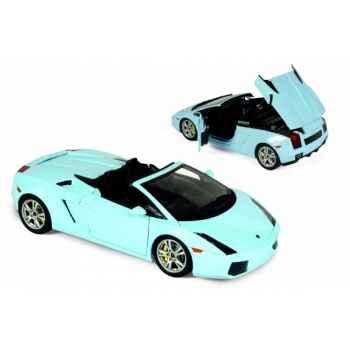 Lamborghini gallardo spider bleu phoebe 2006 Norev 187951