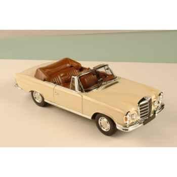 Mercedes 280se cabriolet ivoire 1969 Norev 183523