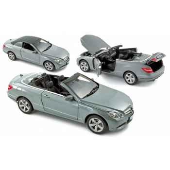 Mercedes benz e500 cabriolet 2010 palladium silver Norev 183541