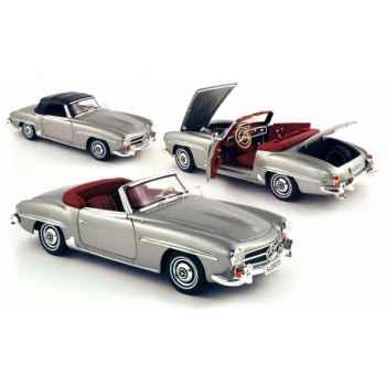Mercedes-benz 190 sl gris métallisé 1957  Norev 183535