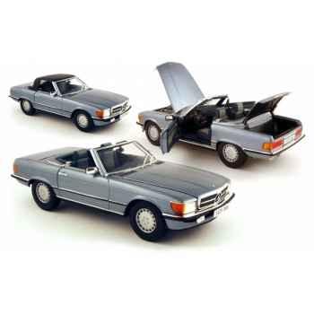 Mercedes-benz 300sl soft top bleu 1986 Norev 183509