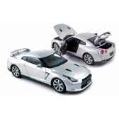 nissan gtr r 35 lhd 2008 ultimate silver norev 188050