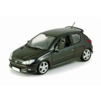 Peugeot 206 rc noir obsidien Norev 184725