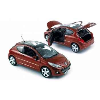 Peugeot 207 2009 erythrée red  Norev 184820