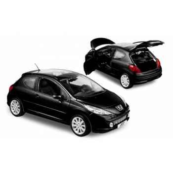Peugeot 207 berline 3p noir obsidien 2006 Norev 184768