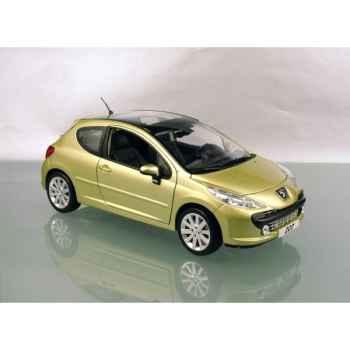 Peugeot 207 jaune lacerta Norev 184758