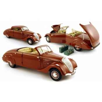 Peugeot 402 eclipse marron 1937 Norev 184762