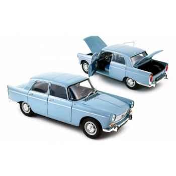 Peugeot 404 1965 clear blue Norev 184751