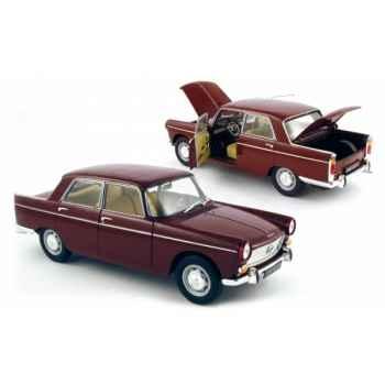 Peugeot 404 rouge amarante 1965 Norev 184761