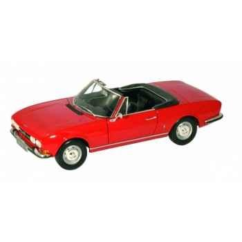 Peugeot 504 cabriolet rouge de chine Norev 184754
