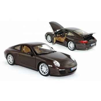 Porsche 911 carrera coupe 2008 macadamiametallic  Norev 187523