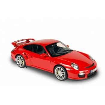 Porsche 911 gt2 rouge indien 2007 Norev 187502