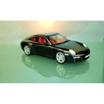 Porsche 911 targa noir int. terracota Norev 187506