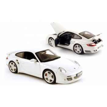 Porsche 911 turbo blanc 2006 Norev 187504