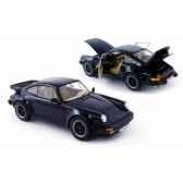 porsche 911 turbo coupe bleu fonce 1985 norev 187540