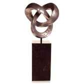 sculpture trifoigarden sculpture aluminium bs3410alu alabnp